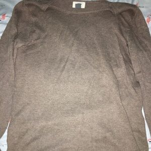 brown old navy sweater